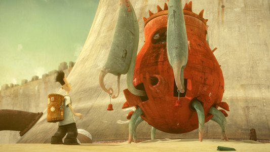 What medium was used for the illustrations in Shaun Tan's book The Lost Thing? Please Answer!!!?