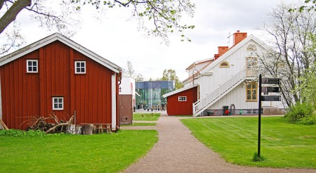 The announcement takes place in Vimmerby, the birthplace of Astrid Lindgren. The cultural centre is situated next to Astrid Lindgren's childhood home. Photo: Emma Jansson.