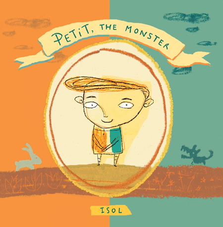 Cover of Petit, the monster (Groundwood Books, 2010)