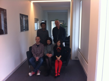 Sami Said, Carl Johan Malmberg, Oskar Hallbert, Jessika Gedin and Isol.
