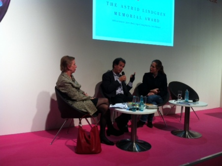 Annoncement of the 2013 candidates at the Frankfurt Book Fair last year.