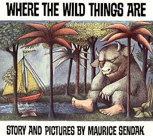 Cover of Where the Wild Things Are (Harper and Row, 1963)