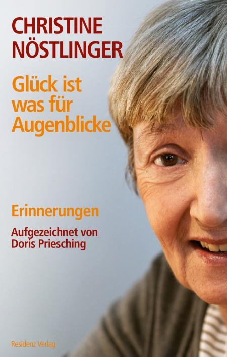 Cover of the upcoming Glück ist was für Augenblicke, Residenz Verlag.