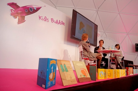 Announcement of the nominees for 2014. Photo: Frankfurt Book Fair