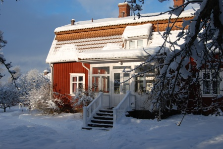 Astrid Lindgren's childhood home at Näs.