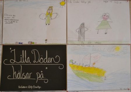 "Children's make their own stories inspired by 2010 ALMA laureate Kitty Crower's ""The Visit of Little Death""."