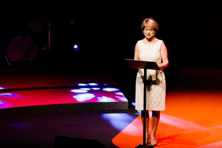 Minister for Culture, Lena Adelsohn Liljeroth.
