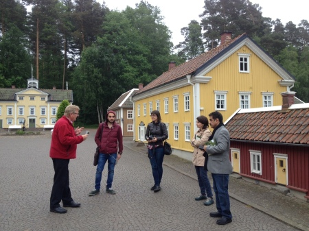 Visiting Astrid Lindgren's World in Vimmerby. Photo: Sergio Guimaraes, Swedish Institute