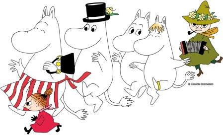 The Moomins. ©Moomin Characters