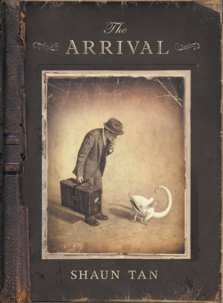 The Arrival (2006) by Shaun Tan.