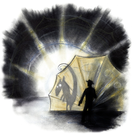 Illustration: Anders Karls, Uusi Teattri
