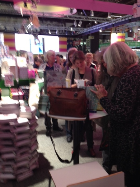 Lots and lots of book signings...