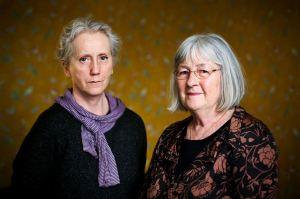 Eva Lindström and Barbro Lindgren. Photo: Rebecka Uhlin