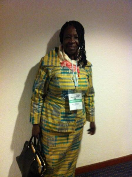 Akoss Aforii- Mensah, publisher from Ghana and member of the IBBY board, started her publishing career with books for children on environmental issues and is today focused on inclusion and children's rights.