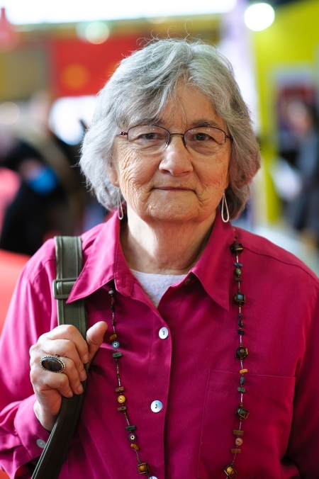 Katherine Paterson at the Bologna Children's Book Fair in 2012. Photo: Stefan Tell