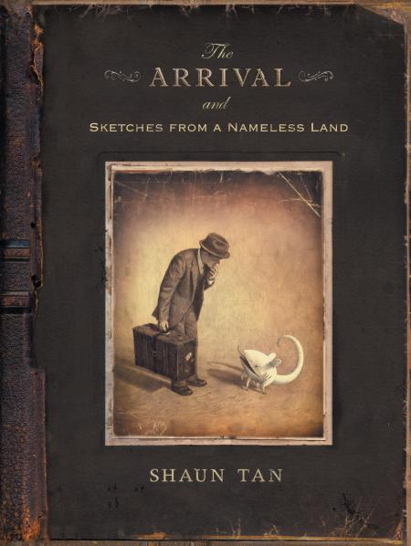 Cover from The Arrival.