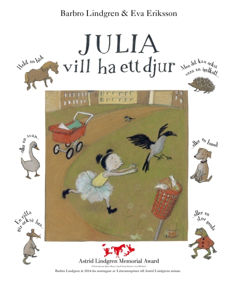 Julia wants a pet (illustrated by Eva Eriksson) Rabén & Sjögren