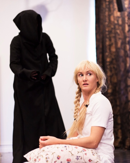 Sissela Benn as the girl Elsewise in The Visit from Little Death. Photo: Johan Sjövall