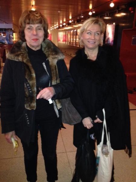 Marianne von Baumgarten and Annika Lindgren, granddaugther of Astrid Lindgren.