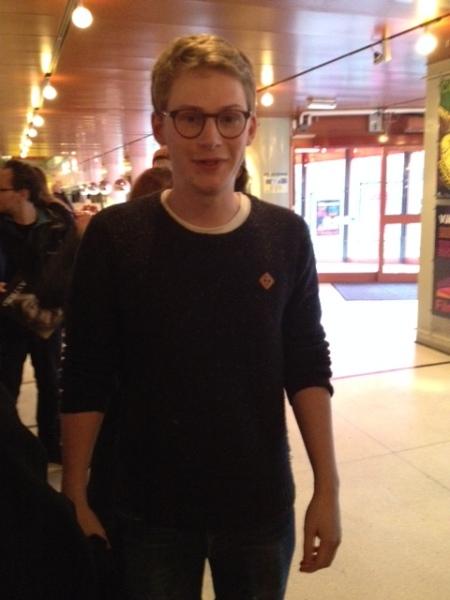 Johan Palmberg, great grandson of Astrid Lindgren and member of the Astrid Lindgren Memorial Award jury.
