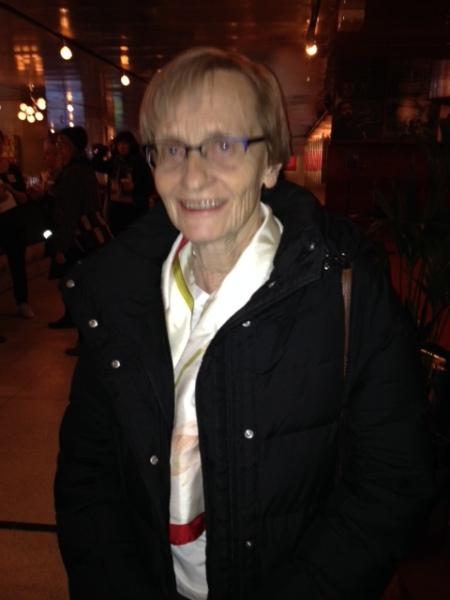 Karin Nyman, Astrid Lindgren's daughter.