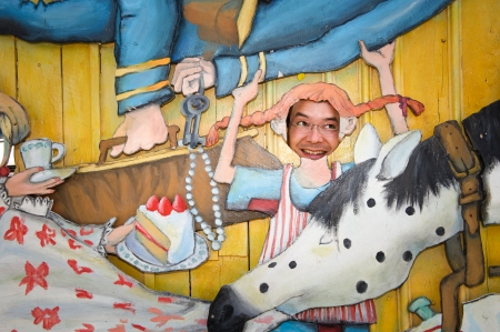 2011 ALMA Laureate Shaun Tan from Australia visited fairytale house Junibacken in Stockholm during the 2011 Award week. Photo: Stefan Tell