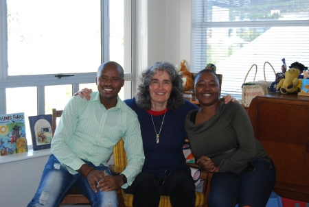 Malusi Ntoyapi, Carole Bloch and Ntombizanele Mahobe. Photo: PRAESA
