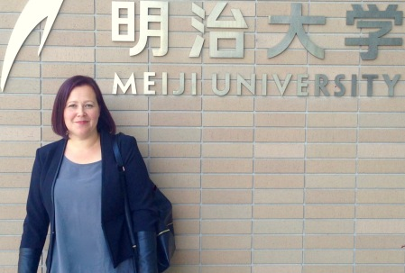 Elina Druker at Meiji University