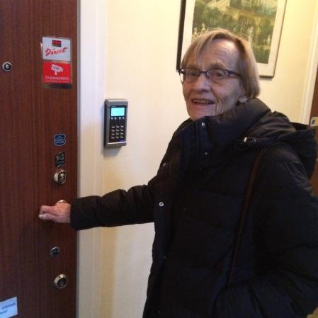 Astrid Lindgren's daugher Karin Nyman.